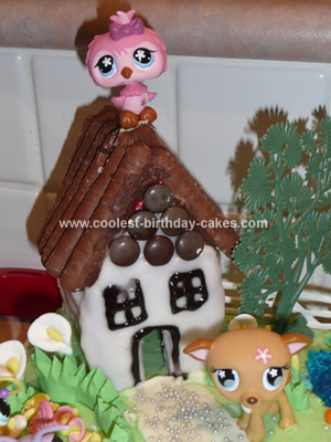 Cool Homemade Littlest Petshop Scene Birthday Cake