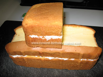 Coolest Mater Birthday Cake