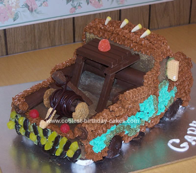 Cool Homemade Mater Cake