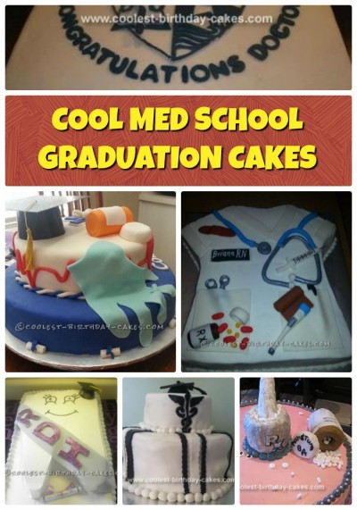 Cool Med School Graduation Cake Ideas