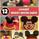 Coolest Mickey Mouse Cake Ideas