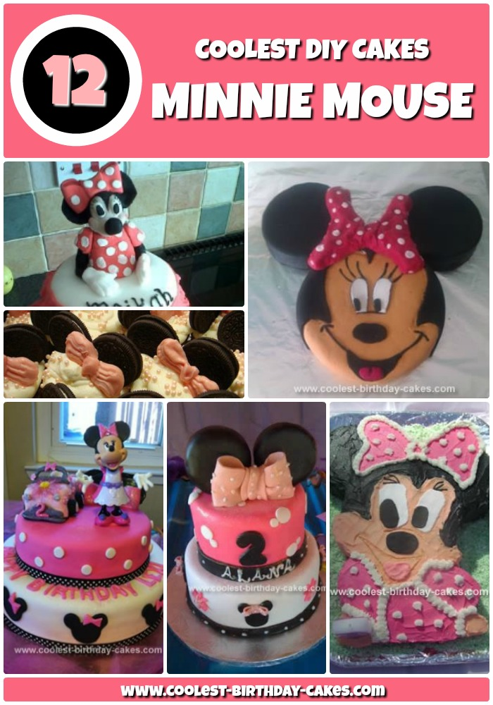 12+ Coolest Minnie Mouse Cake Ideas   Coolest Birthday Cakes