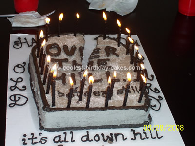 Over The</p><p> Hill Cake