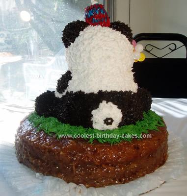 Coolest Panda Birthday Cake