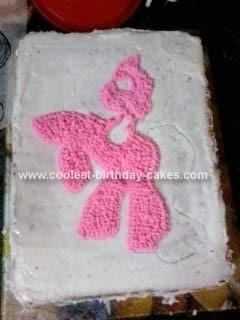Coolest Pinkie Pie Pony Cake