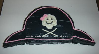 Pirate hat Birthday Cake