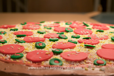 Coolest Pizza Cake