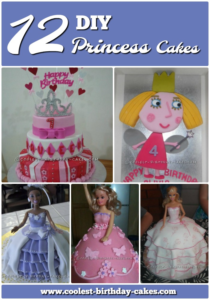 12 Inspiring Homemade Princess Birthday Cake Ideas
