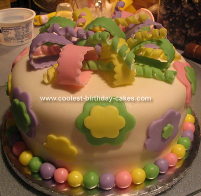 Purple Dot Cake