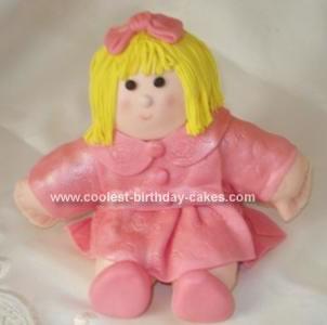 Coolest Rag Doll Cake