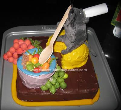 Cool Homemade Ratatouille Cake
