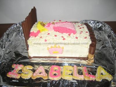 Coolest Sleeping Beauty Birthday Cake