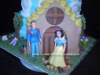 Coolest Snow White Cottage Cake