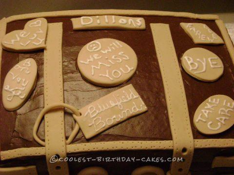 Coolest Suitcase Cake