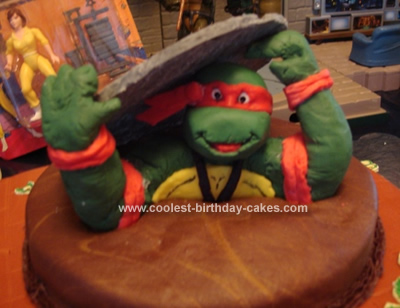 Coolest TMNT Sewer Cake