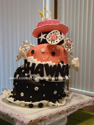 Topsy Turvy Crazy Birthday Cake