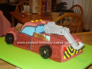 Coolest Tow Mater Birthday Cake