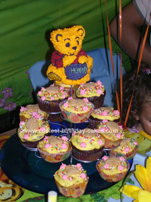 Coolest Winnie Pooh Birthday Cake