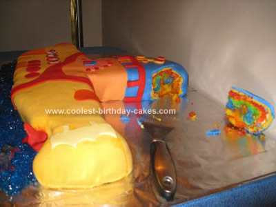 Coolest Yellow Submarine Cake