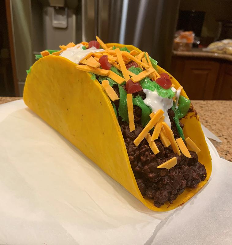 Awesom Taco Cake!
