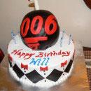 James Bond Birthday Cakes