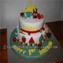 The Very Hungry Caterpillar Birthday Cakes