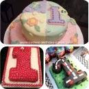 Number One 1st Birthday Birthday Cakes