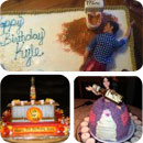 21st Birthday Theme Birthday Cakes