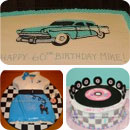 50s Theme Birthday Cakes