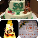 50th Birthday Birthday Cakes