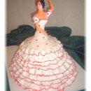 Flamenco Dancer Birthday Cakes