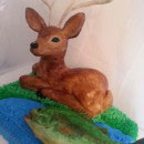 Reindeer and Deer Christmas Cake Ideas
