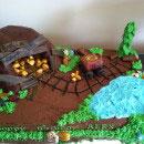 Gold Mine Birthday Cakes