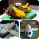 Airplanes Birthday Cakes