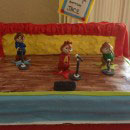 Alvin and the Chipmunks Birthday Cakes