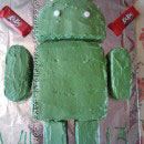 Andy the Android Birthday Cakes