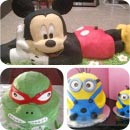 Animated Character Cakes