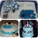 Arctic Birthday Cakes