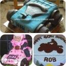ATV Birthday Cakes