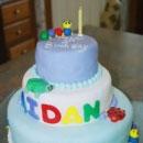 Baby Einstein Logo Birthday Cakes