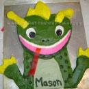 Baby Einstein Lizard Birthday Cakes