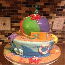 Beach Ball Birthday Cakes