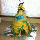 Bumble Bee Birthday Cakes