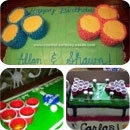 Beer Pong Birthday Cakes