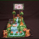 Waterfall Birthday Cakes