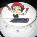 Betty Boop Birthday Cakes