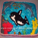 Whales and Orcas Under the Sea Cakes
