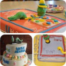 Bookworms Birthday Cakes