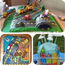 City Scene Birthday Cakes