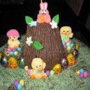 Easter Scene Easter Cake Ideas